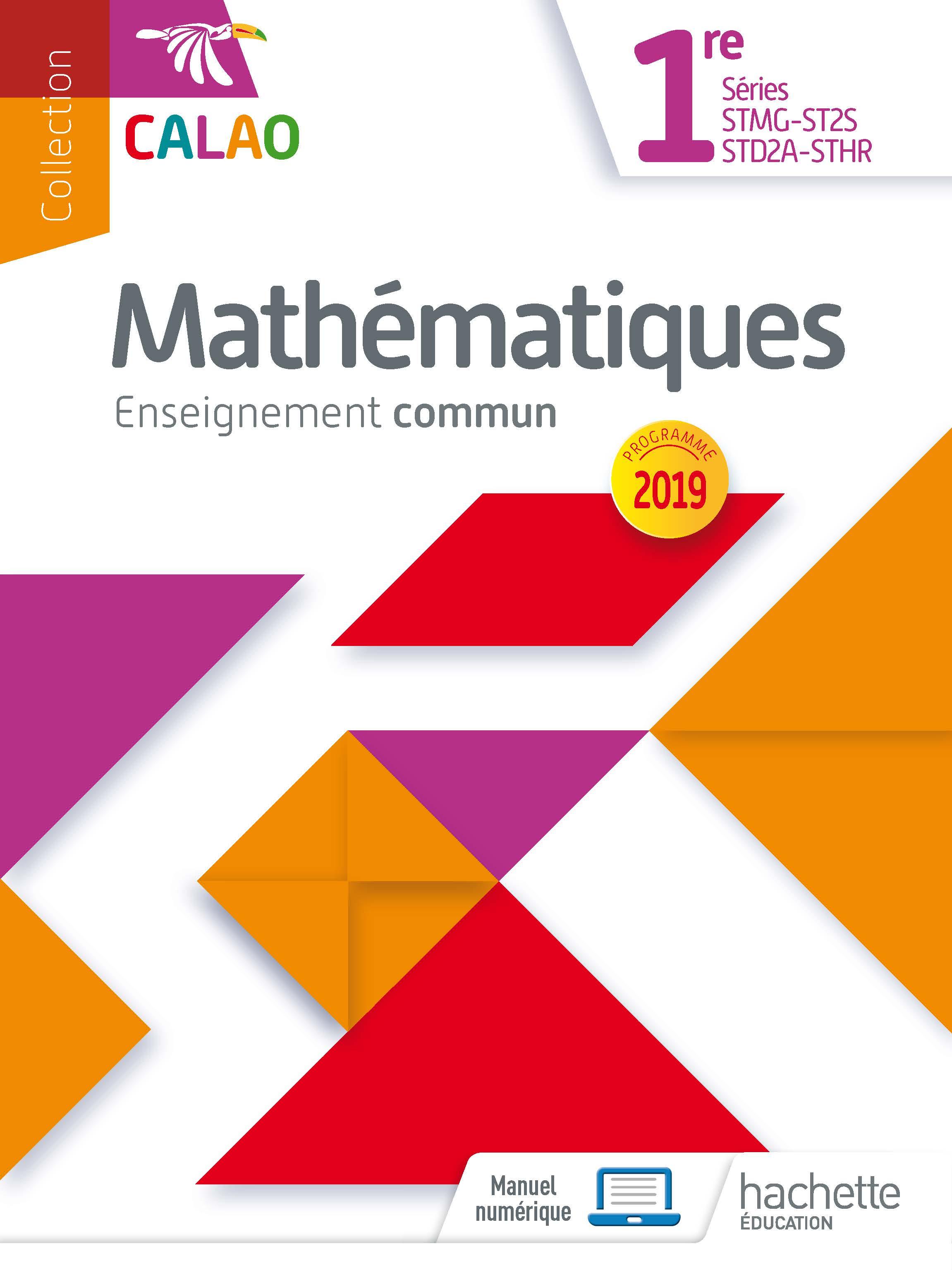 Maths 1re commun - 4994019